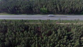 Фото дороги от трутня Стоковые Фото