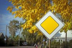 Фото дорожного знака Стоковая Фотография RF