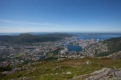 Фото от Берген, Норвегии Стоковое фото RF