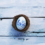 Фото пасхального яйца Стоковое Фото