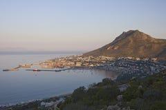 Фото побережья и гавани от Кейптауна Стоковое Фото
