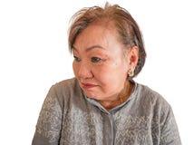 Фото портрета женщин красоты старших азиатских стоковое фото