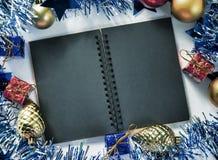 Фото предпосылки оформления рождества Стоковая Фотография RF