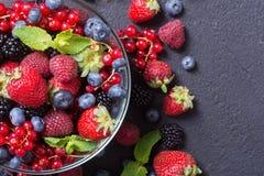 Фото предпосылки ягод стоковые изображения