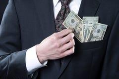 Наличные деньги король Стоковое Изображение RF