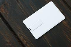 Фото пустых карточек флэш-карты usb Стоковая Фотография