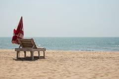 Фото пляжа Стоковое Изображение