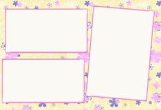 фото рамки бумажное Стоковые Изображения