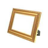 фото рамки золотистое Стоковое фото RF