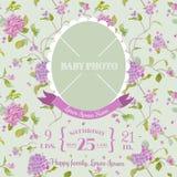 фото рамки карточки младенца прибытия Стоковое фото RF