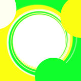 фото рамки круглое Стоковая Фотография