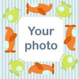 фото рамки младенца самолетов Стоковые Изображения