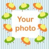фото рамки младенца Стоковое фото RF