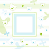 фото рамки младенца Стоковое Изображение