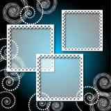фото рамки предпосылки кружевное иллюстрация штока