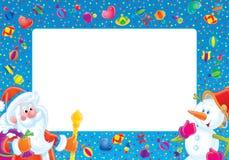 фото рамки рождества Стоковые Фото