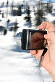 фото руки камеры стоковая фотография