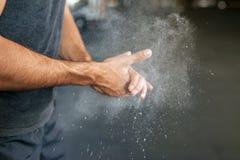 Фото рук фитнеса стоковое изображение