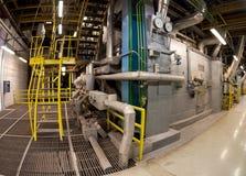 Интерьер промышленного здания Стоковые Изображения RF