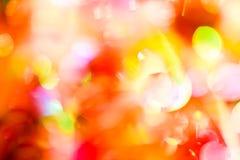 Фото светов bokeh Стоковые Изображения