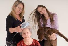 фото семьи Стоковое Изображение