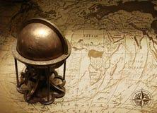 Старый глобус Стоковое Изображение
