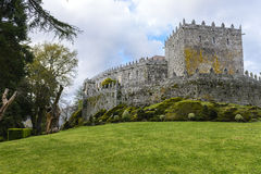Замок Soutomaior, Понтеведра, Галисия, Испания Стоковые Фото