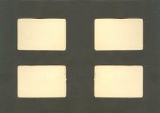 фото страницы альбома античное Стоковое фото RF