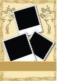 фото страницы плана альбома иллюстрация вектора