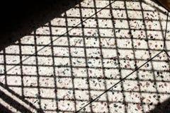 Фото тени сетки двери Стоковая Фотография RF