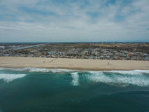 Фото трутня побережья Калифорнии Стоковые Изображения