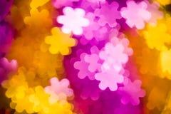 Фото формы цветков как предпосылка Стоковое Фото