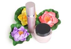 Цветки и пробка parfum Стоковое Изображение RF
