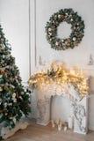 Фото человека пряника схематическое для предпосылки рождественской открытки Стоковые Изображения RF