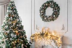 Фото человека пряника схематическое для предпосылки рождественской открытки Стоковые Фотографии RF