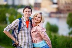 Фото человека с женщиной Стоковое фото RF