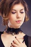 фото ювелирных изделий способа красотки искусства стоковое фото rf