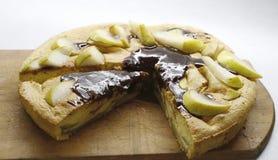 Фото яблочного пирога Стоковое фото RF