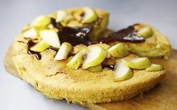 Фото яблочного пирога Стоковые Фотографии RF