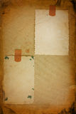 фото 2 рамки старое Стоковое Фото