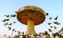 фото carousel действия Стоковое фото RF