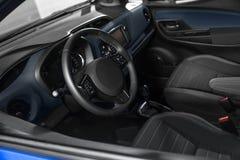 Фото Closep интерьера автомобиля Стоковое фото RF