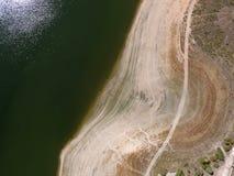 Фото 3 Embalse de Pedrezuela воздушное стоковое изображение