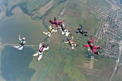 фото skydiving Стоковое Фото