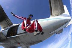 Фото Skydiving. стоковые изображения rf
