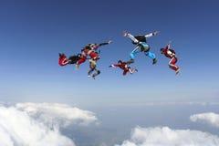 Фото Skydiving. Стоковые Изображения
