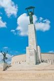 Статуя вольности в Будапешт Стоковое Изображение RF