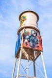 Фото Warner Bros. Путешествие Голливуд студии, внешние взгляды зданий студий братьев Warner стоковое фото
