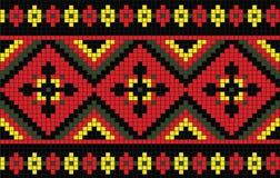 Фольклорная картина текстуры Стоковое Изображение RF