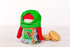 Фольклорная кукла, фольклорный мотив Стоковое фото RF